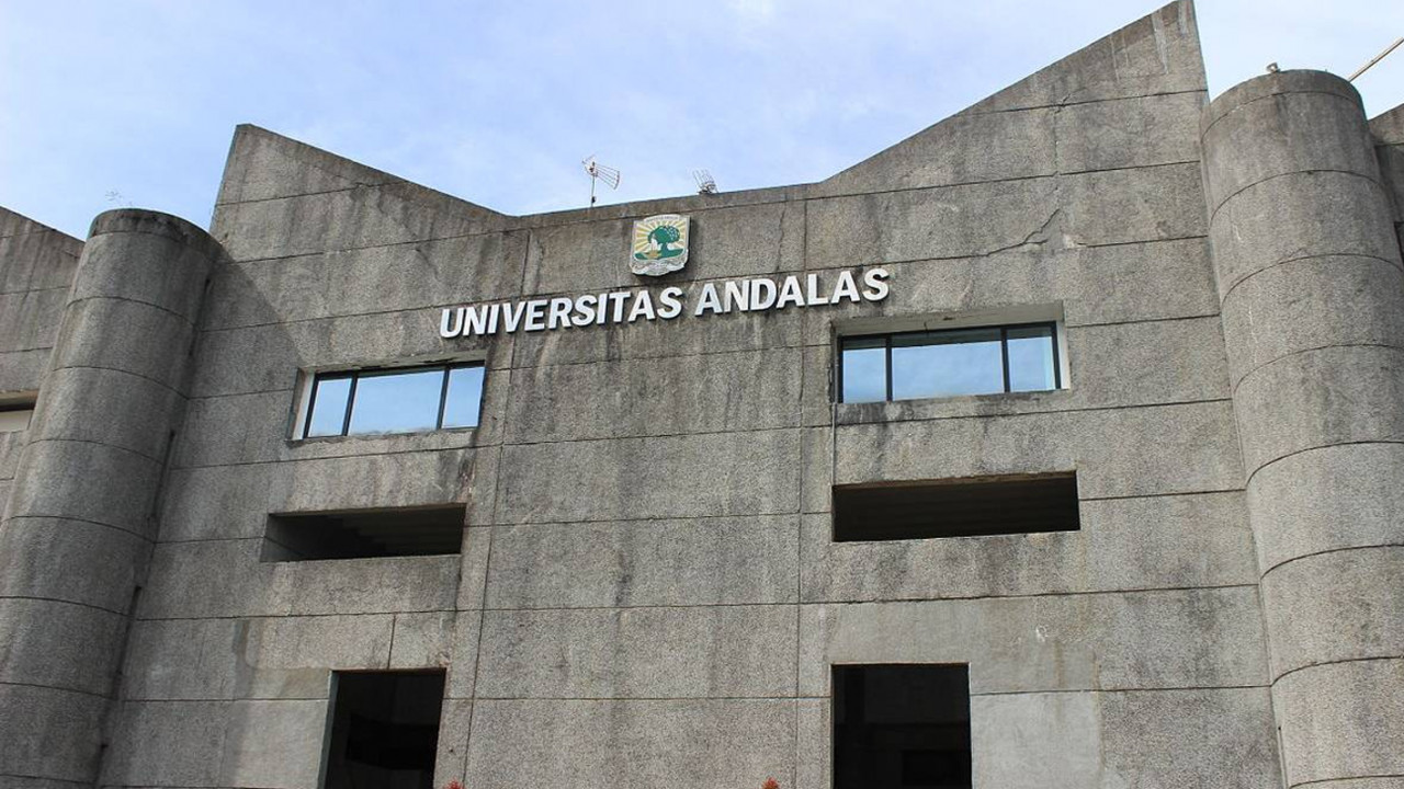 Kampus Universitas Andalas di Padang, Sumatera Barat