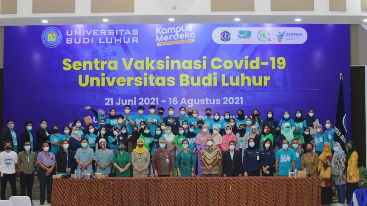 UBL Jakarta menjadi sentra vaksinasi covid-19/ist