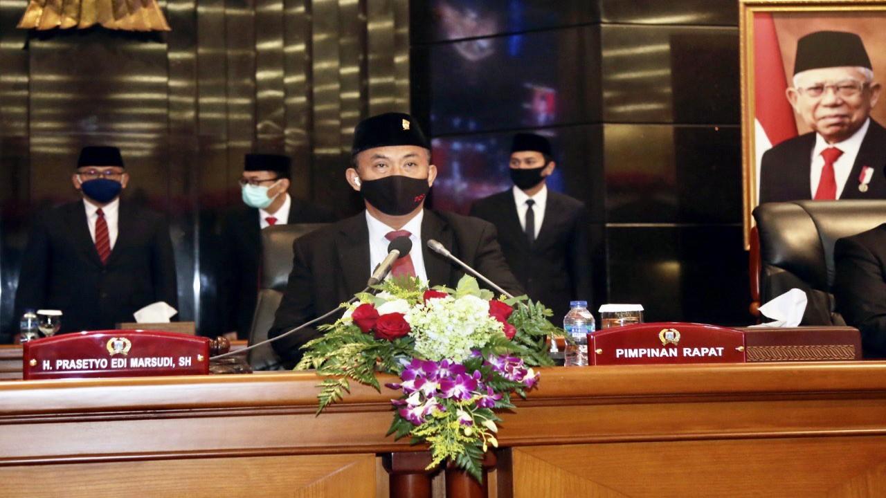 Ilustrasi DPRD sahkan APBD Perubahan DKI Jakarta 2021/ist