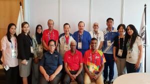 Tim lengkap Medical and doping control OCA dgn Directur dan Wadir Medical and Doping Control Inasgoc-1634991082